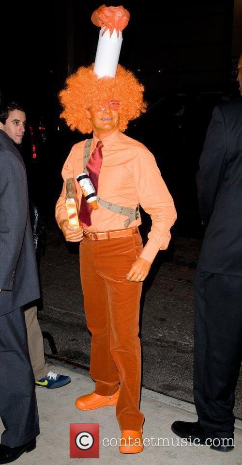 Kyle McLachlan  Heidi Klum's Halloween Party held...