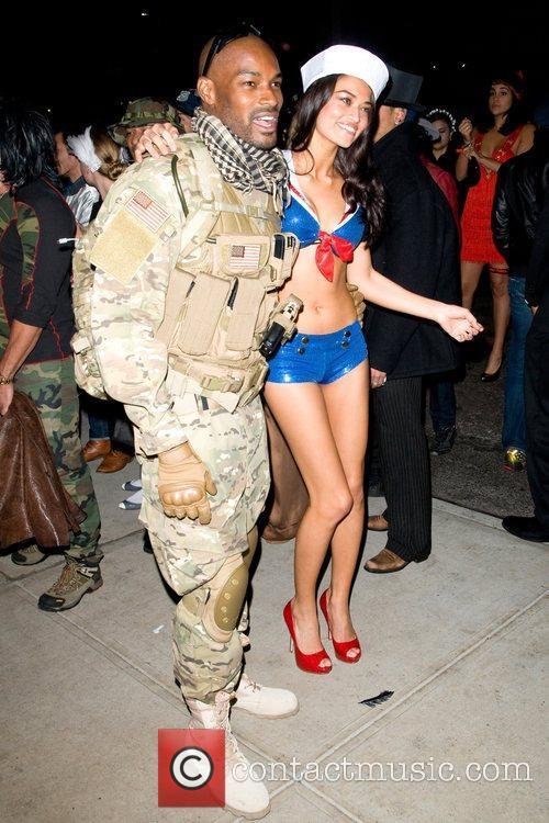 Tyson Beckford, Guest Heidi Klum's Halloween Party held...