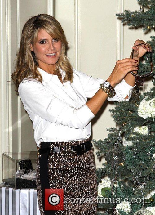 Heidi Klum unveils her Wildlife jewelry line at...