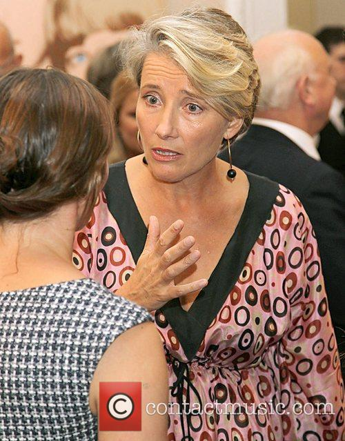 Emma Thompson,  at the fundraising event to...