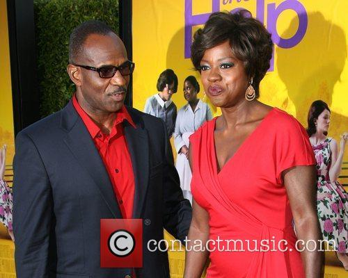 Viola Davis and Guest World Premiere of The...