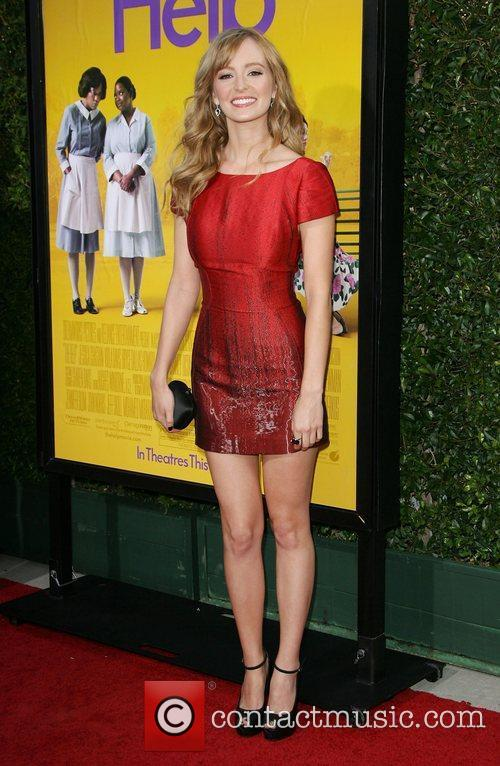 Ahna O'Reilly World Premiere of The Help held...