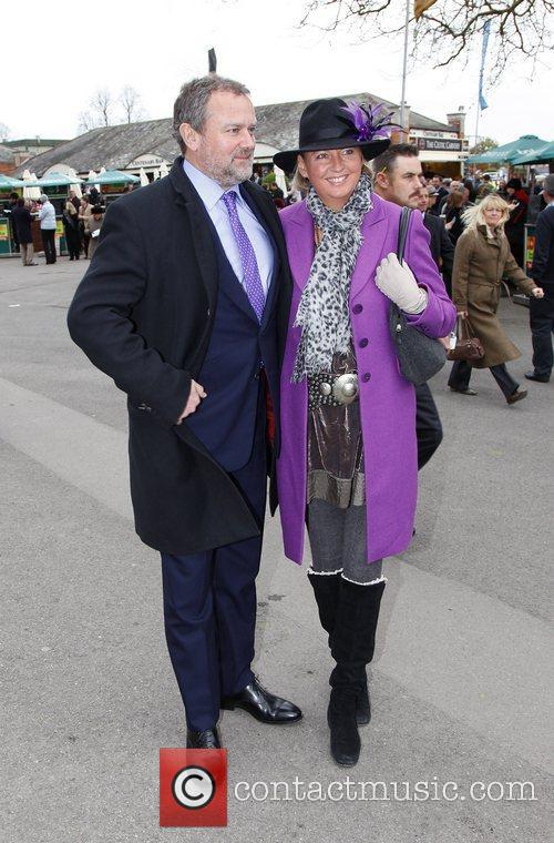 Hugh Bonneville and Lulu Evans Hennessy Gold Cup,...