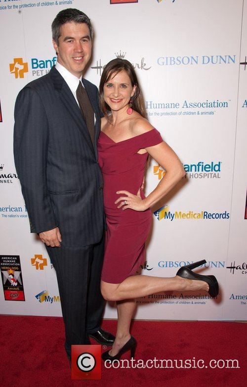 Keith Christian And Kellie Martin and Beverly Hilton Hotel 3