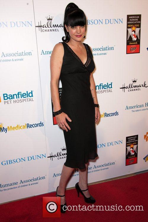 Pauley Perrette and Beverly Hilton Hotel 3