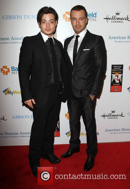 Andrew Lawrence, Joseph Lawrence and Beverly Hilton Hotel 2