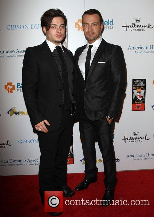 Andrew Lawrence, Joseph Lawrence and Beverly Hilton Hotel 1