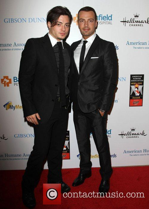 Andrew Lawrence, Joseph Lawrence and Beverly Hilton Hotel 7