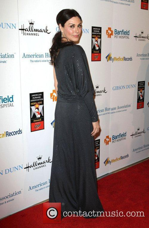 Michelle Forbes and Beverly Hilton Hotel 1