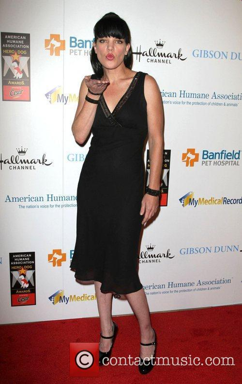 Pauley Perrette and Beverly Hilton Hotel 1