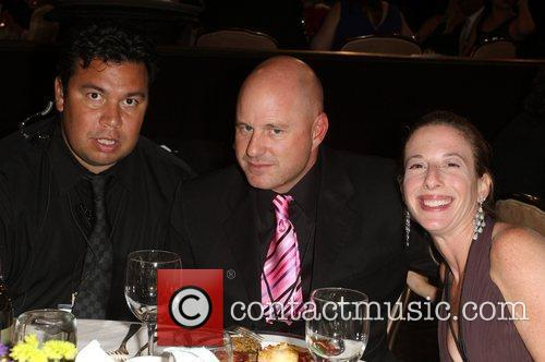 Neil, Brad And Danielle Dorfman and Beverly Hilton Hotel 4