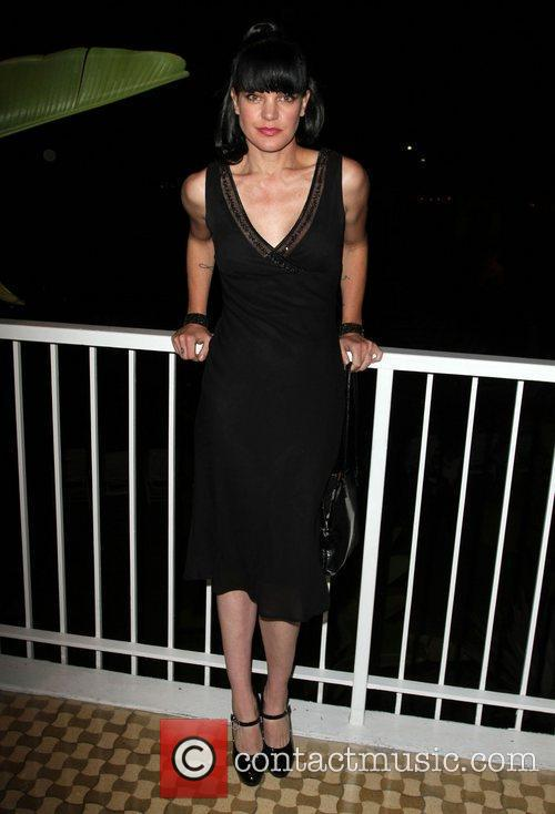 Pauley Perrette and Beverly Hilton Hotel 4