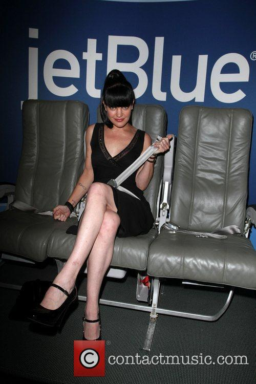 Pauley Perrette and Beverly Hilton Hotel 8