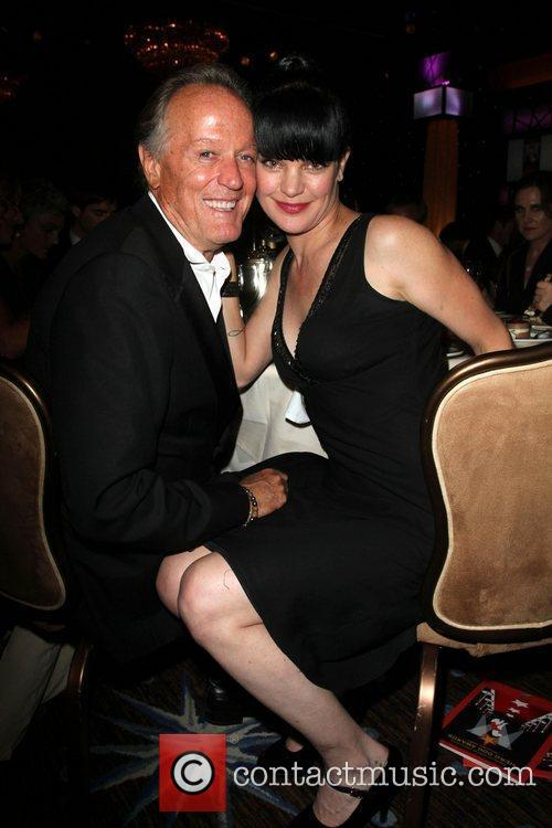Peter Fonda, Pauley Perrette and Beverly Hilton Hotel 2
