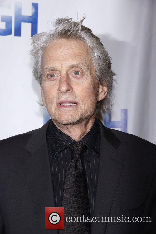 Michael Douglas Opening night of the Broadway production...