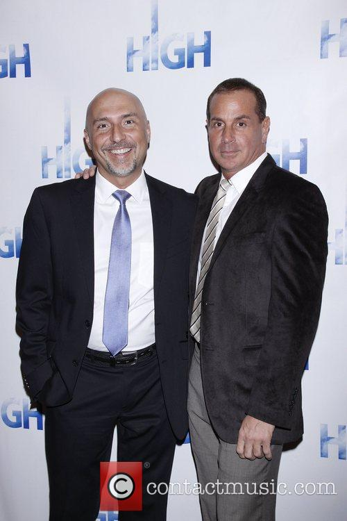 Rob Ruggiero and Matthew Lombardo Opening night of...