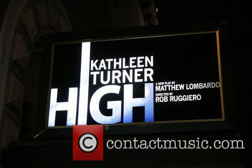 Opening night of the Broadway production of 'High'...