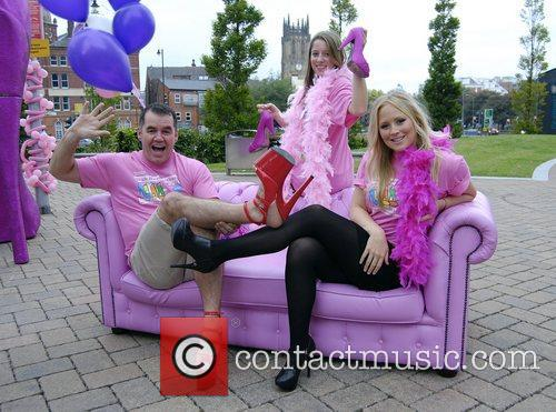 High heel-a-thon 2011 for Haven and Sue Ryder...