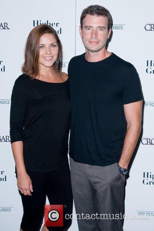 Marika Dominczyk and Scott Foley The New York...