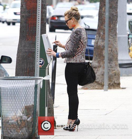 Hilary Duff and Maxwell 7