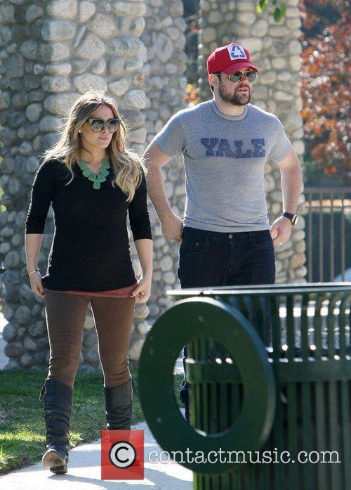 Hilary Duff and MIKE COMRIE 10