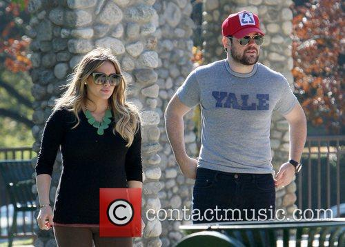 Hilary Duff and MIKE COMRIE 12