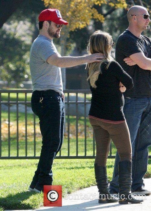 Hilary Duff and MIKE COMRIE 6