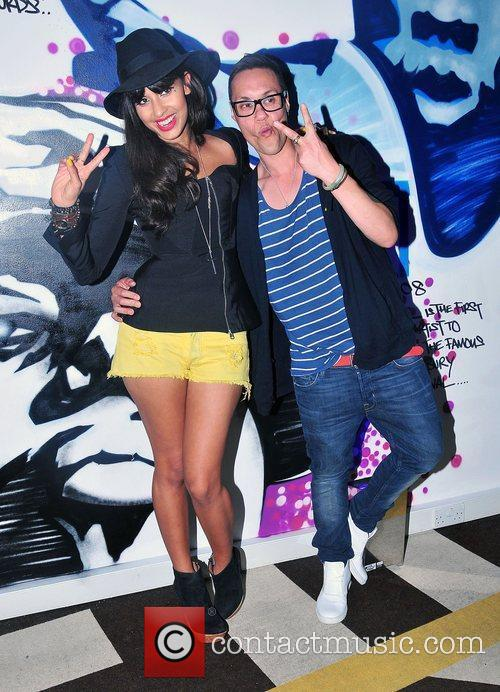 Jameela Jamil and Gok Wan 4