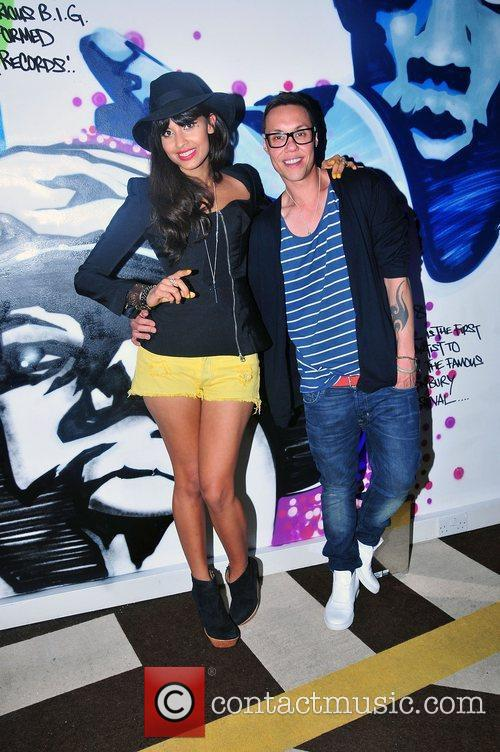 Jameela Jamil and Gok Wan 6