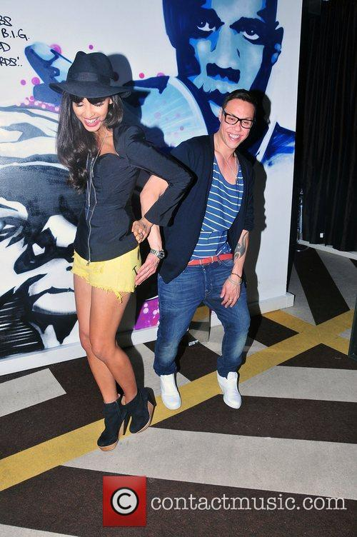 Jameela Jamil and Gok Wan 1
