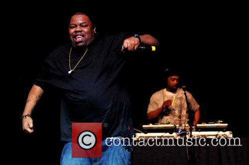 Biz Markie performs during Salt-N-Pepa legends of Hip...