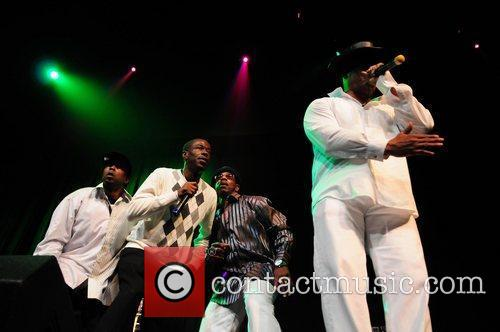 Whodini perform during Salt-N-Pepa  Salt-N-Pepa legends of...