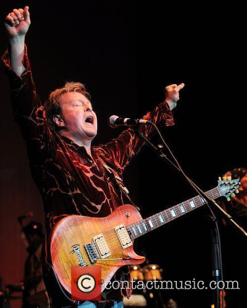 Rick Derringer  performs during Hippiefest 2011 at...