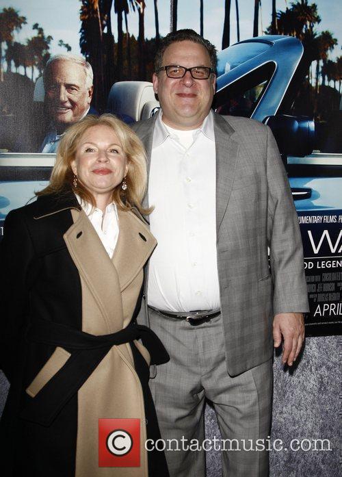 Jeff Garlin, wife  The Los Angeles HBO...