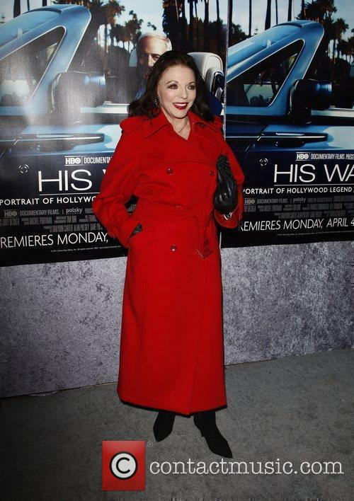Joan Collins  The Los Angeles HBO Premiere...