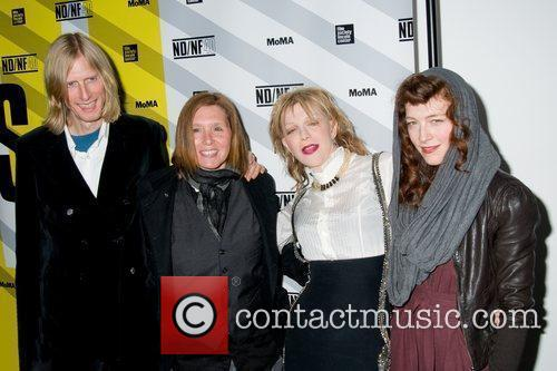 Eric Erlandson, Patty Schemel, Courtney Love and Melissa...
