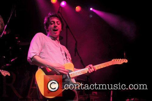 Playing live at the HMV Institute, as supporting...