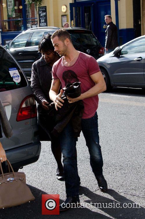 Artem Chigvintsev arriving at rehearsals for 'Strictly Come...