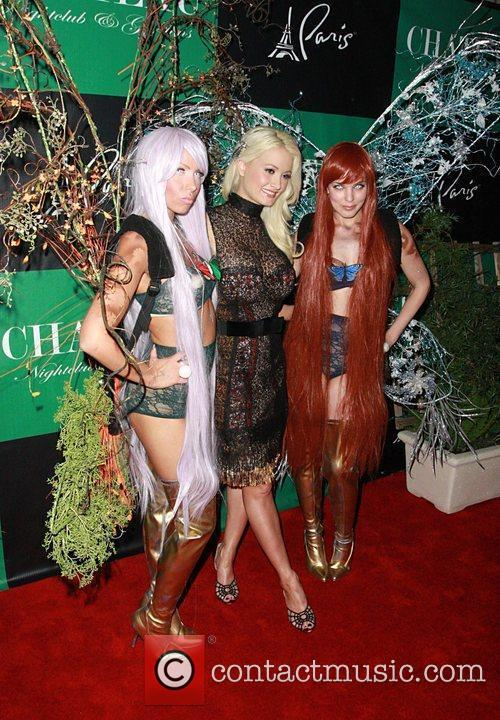 Holly Madison celebrates the release of her Holly's...