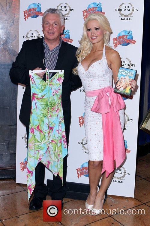 Jerry Coleman and Holly Madison Holly Madison Hand...