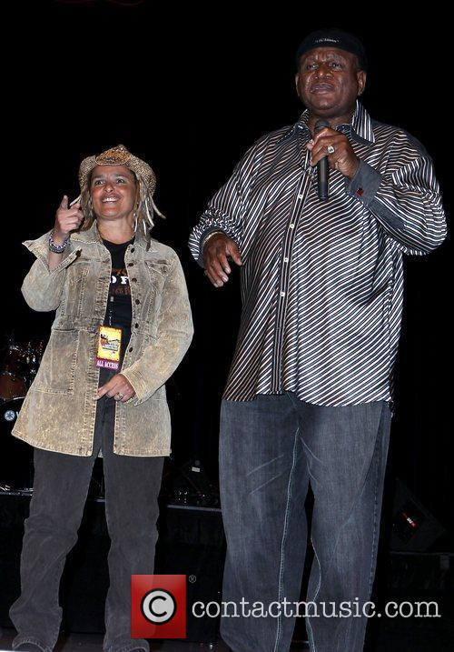 Shari Belafonte and George Wallace The Nevada Wild...