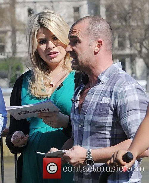 Holly Willoughby and Louie Spence 4