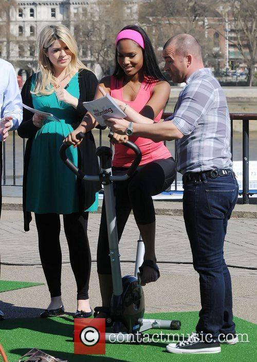 Holly Willoughby and Louie Spence 5