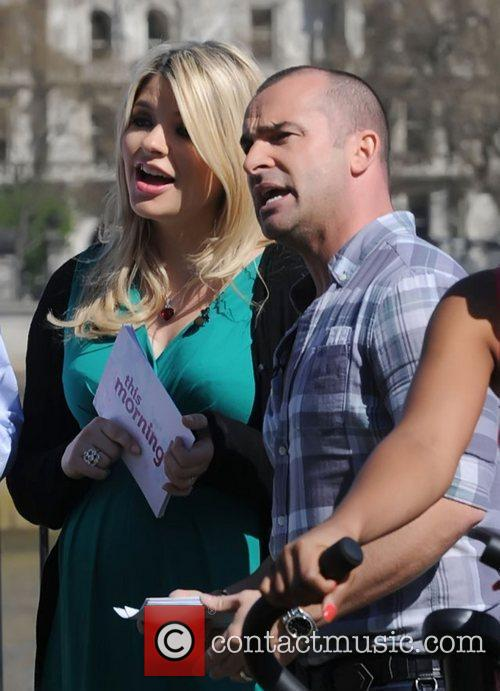 Holly Willoughby and Louie Spence 9