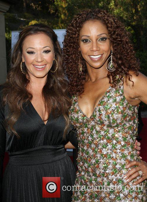 Leah Remini and Holly Robinson Peete 8