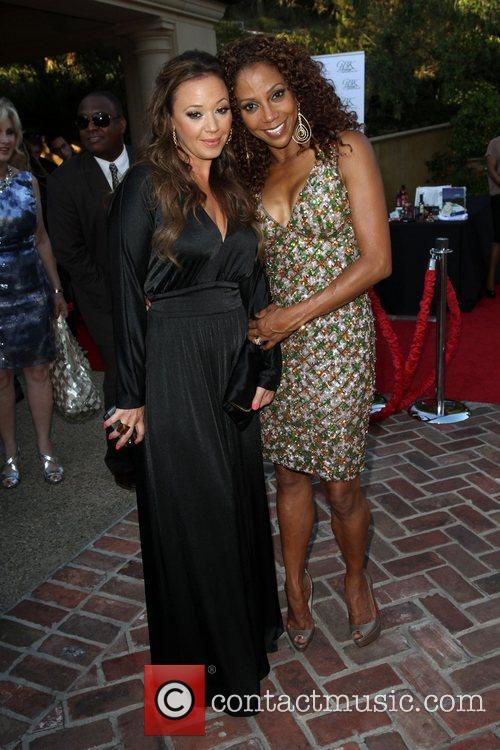 Leah Remini and Holly Robinson Peete 11