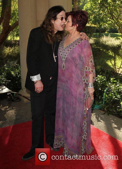 Ozzy Osbourne and Sharon Osbourne 25