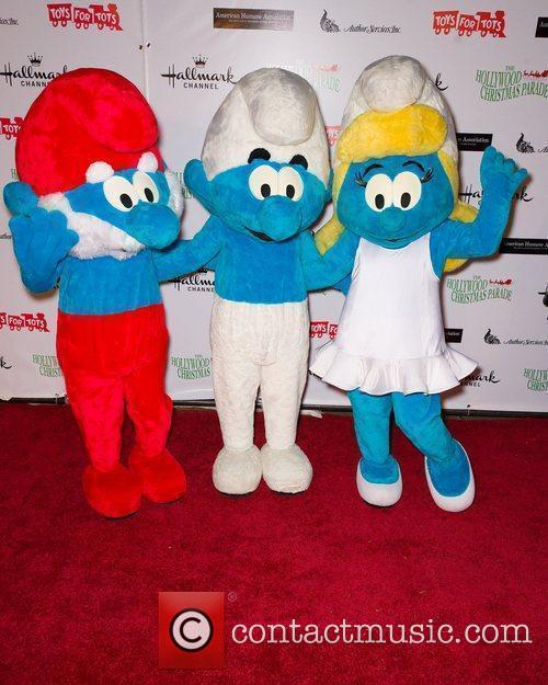 Smurfs  The 80th Anniversary of The Hollywood...
