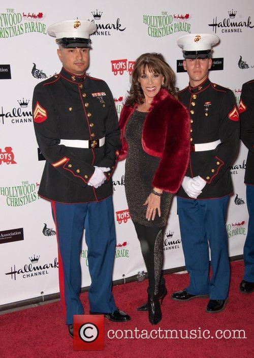 Kate Linder with US Marines The 80th Anniversary...