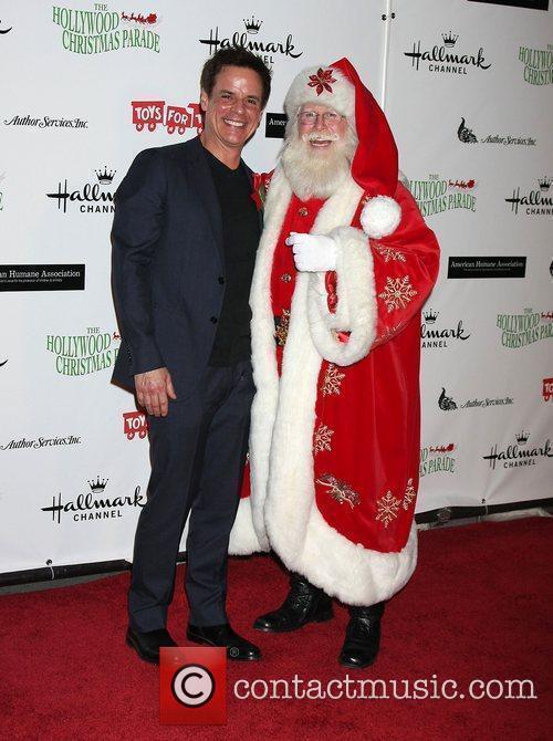 Christian LeBlanc and Santa Claus  The 80th...